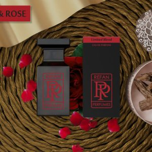 Smaržas AGARWOOD & ROSE by REFAN