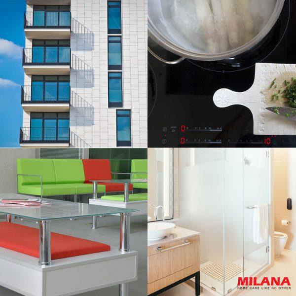 Tīrīšanas aerosols logiem un stikla virsmām MILANA