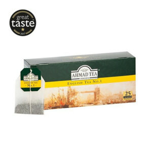 AHMAD Tēja Black Classic Tea. English Tea No 1 (25 gb  2 gr) 50g