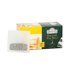 AHMAD Tēja Black Classic Tea. English Tea No 1 (40 gb  2 gr) 80g
