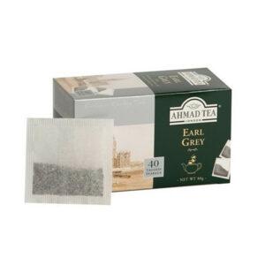 AHMAD Tēja Black Classic Tea. Earl Grey (40 gb  2 gr) 80g