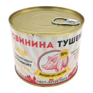 Sautēta cūku gaļa (90%) 525g