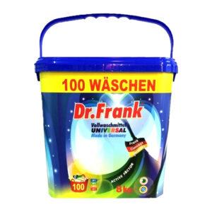 Universāls koncentrēts veļas pulveris Dr.Frank 100 mazgāšanas reizēm 8kg