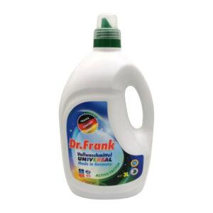 Universāls šķidrs koncentrēts gēls veļas mazgāšanai Dr.Frank 40 mazgāšanas reizēm 3l