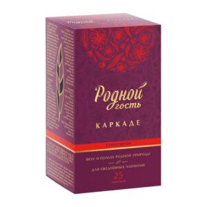 """Augļu un zāļu tēja """"Karstvīns"""" karkade (25 gb) 40g"""