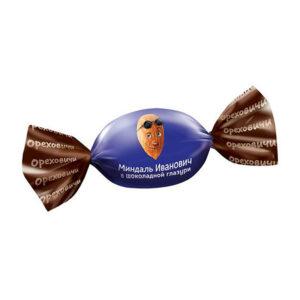 Mandeles šokolādes glazūrā «Ореховичи» 1kg