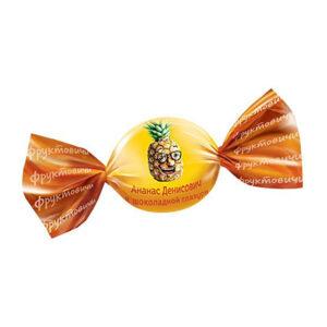 Sveramie ananāsi šokolādes glazūrā «Фруктовичи» 1kg
