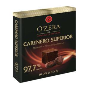 Tumša šokolāde «O`Zera» Carenero Superior 97.7 % 90g