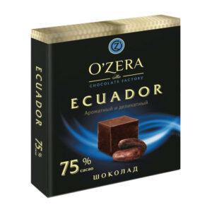 Tumša šokolāde «O`Zera» Ecuador 75 % 90g