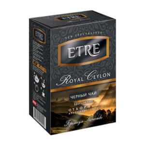 """Beramā melnā tēja """"Etre Royal Ceilon"""" 100g"""