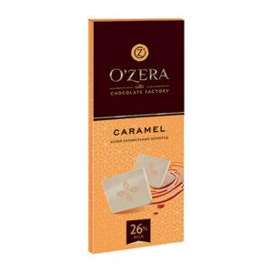 Baltā šokolāde «O`Zera» Caramel 90g