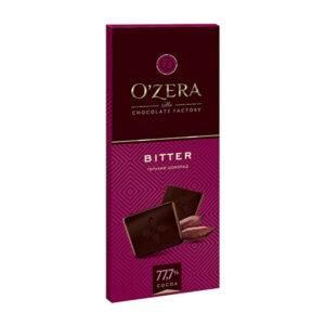 Tumša šokolāde «O`Zera» Bitter 77.7% 90g