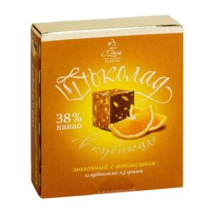 """Piena un apelsīnu šokolāde """"O`Zera"""" 90g"""