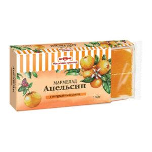 "Marmelāde ""Apelsīns"", želeja, kubiņos 180g"