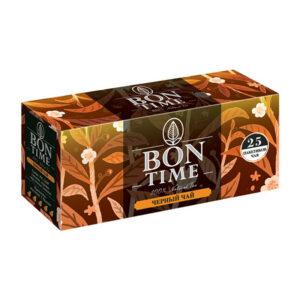 """Melnā tēja """"BONTIME"""" (25 gb  2 gr) 50g"""
