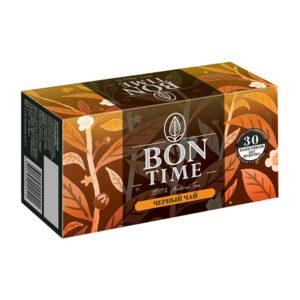 """Melnā tēja """"BONTIME"""" (30 gb  2 gr) 60g"""