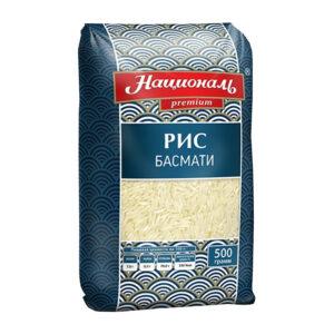 Garie rīsi «Басмати» ТМ «Националь» 500g
