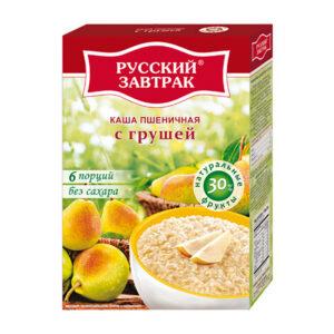 Kviešu pārslas ar bumbieri ТМ «Русский завтрак» 240g