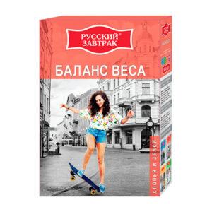 3 graudu pārslas Svara balanss ТМ «Русский завтрак» 240g