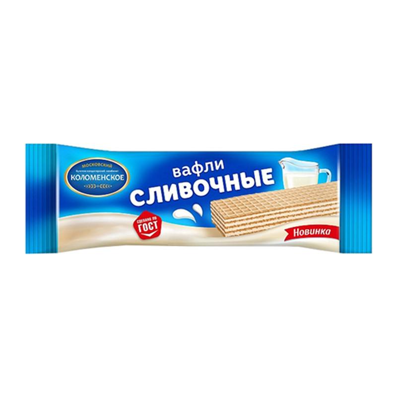 """Tradicionālās krējuma vafeles """"Коломенское"""" 20g"""