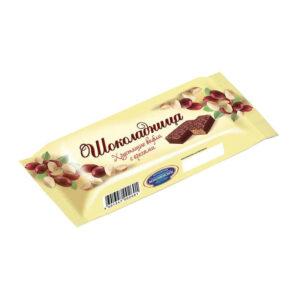 """Glazētas vafeles """"Шоколадница"""" ar riekstiem 30g"""