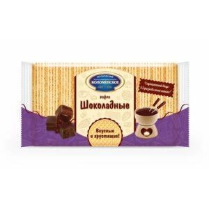 """Vafeles """"Коломенское"""" ar šokolādes garšu 220g"""