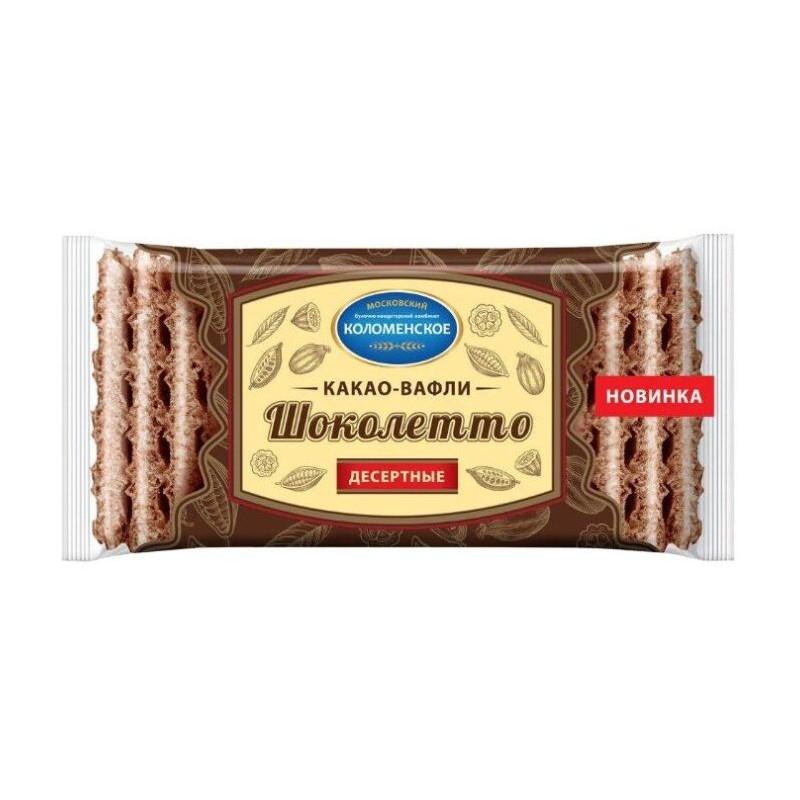 "Deserta kakao vafeles ""ШОКОЛЕТТО"" 150g"