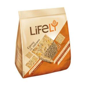 Krekeri «Lifely» ar sēklām 180g