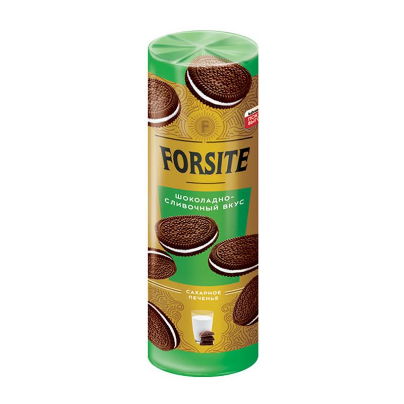 """Sendviča šokolādes cepumi """"Forsite """" ar krējuma pildījumu 208g"""