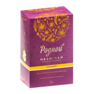 """Ugunspuķes medus tēja """"Родной"""" 50g"""