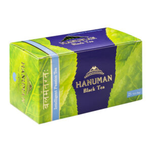 """Melnā Ceilonas tēja ar zemenēm HANUMAN """"Intelligent Passion Tea"""" (25 gab.) 50g"""