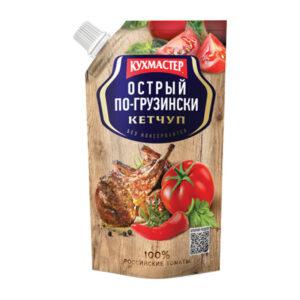 """Pikantais kečups """"Острый по-грузински"""" 260g"""