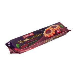 Sviesta cepums «Тарталетки вишневые» ar ķiršu džemu 240g