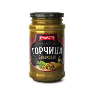 """Bavārijas sinepes """"Баварская"""" 190g"""