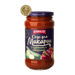 Tomātu mērce makaroniem ar papriku un cukini 400g