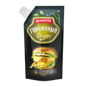 """Pikantā sinepju mērce """"Горчичный"""" 260g"""