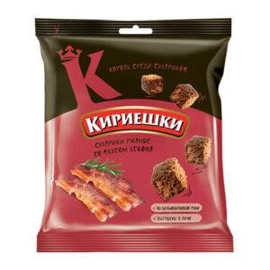 «Кириешки» grauzdiņi ar bekona garšu 40g