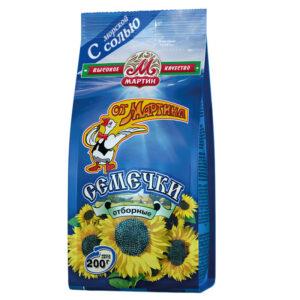 Grauzdētas sālītas Premium saulespuķu sēklas 200g