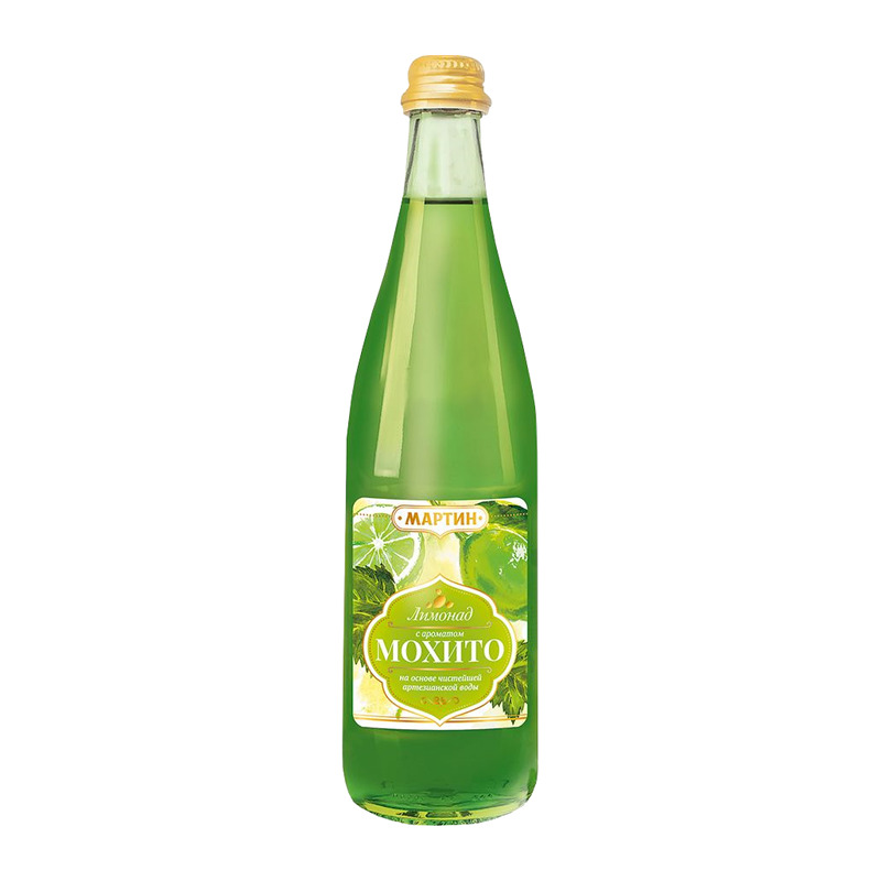 """Mohito limonāde """"МАРТИН"""" 500ml"""