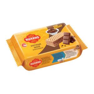 """Fasētas šokolādes vafeles """"Яшкино"""" 200g"""