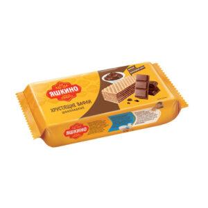 """Fasētas šokolādes vafeles """"Яшкино"""" 300g"""