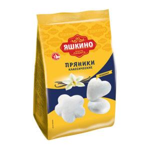 Fasēti klasiskie prjaņiki «Яшкино» cukura glazūrā 350g