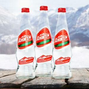 Ledāja kušanas dzeramais gāzēts ūdens «Джигем» 500ml