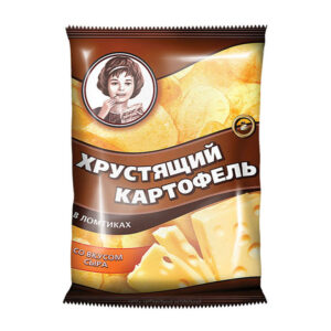 «Хрустящий картофель» ar siera garšu 40g