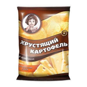 «Хрустящий картофель» ar siera garšu 70g