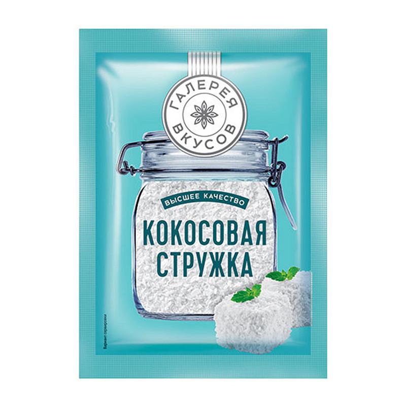 «Галерея вкусов» kokosriekstu skaidiņas 20g