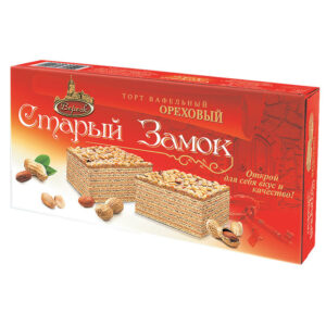 "Riekstu vafeļu torte ""Старый Замок"" 220g"