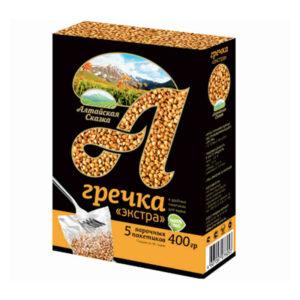 Griķi vārīšanas maisiņos (5 x 80 g) 400g