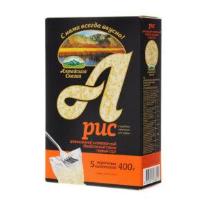 Garie rīsi vārīšanas maisiņos (5 x 80 g) ТМ «Алтайская Сказка»® 400g
