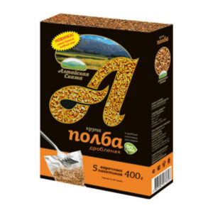 Speltas kvieši šķeltie vārīšanas maisiņos (5 x 80 g) ТМ «Алтайская Сказка»®